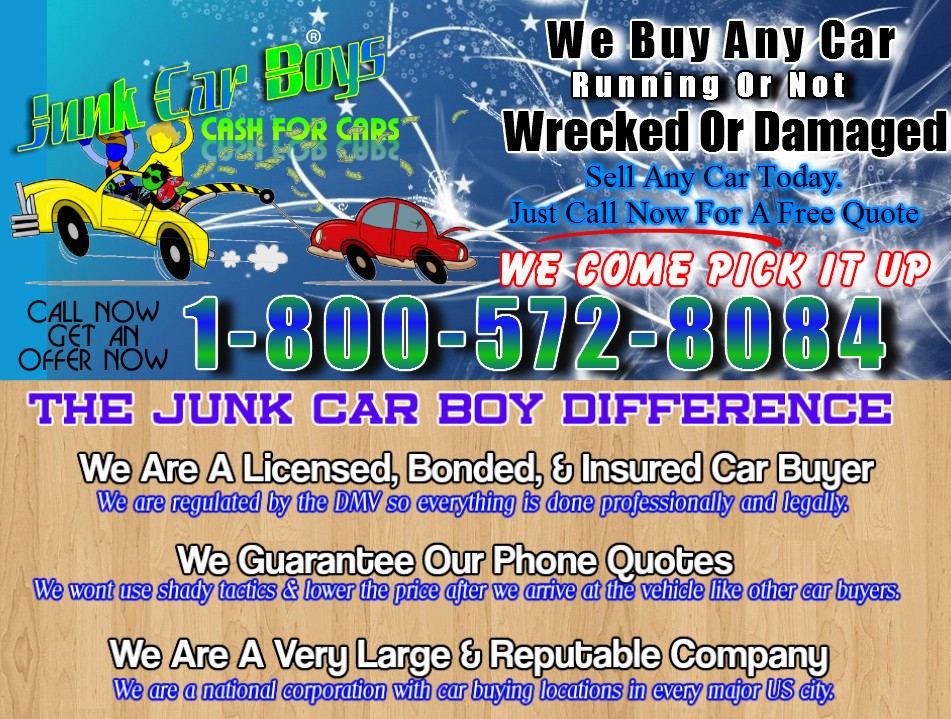 Sell Your Car Today In Greensboro NC » Cash For Cars San Francisco CA